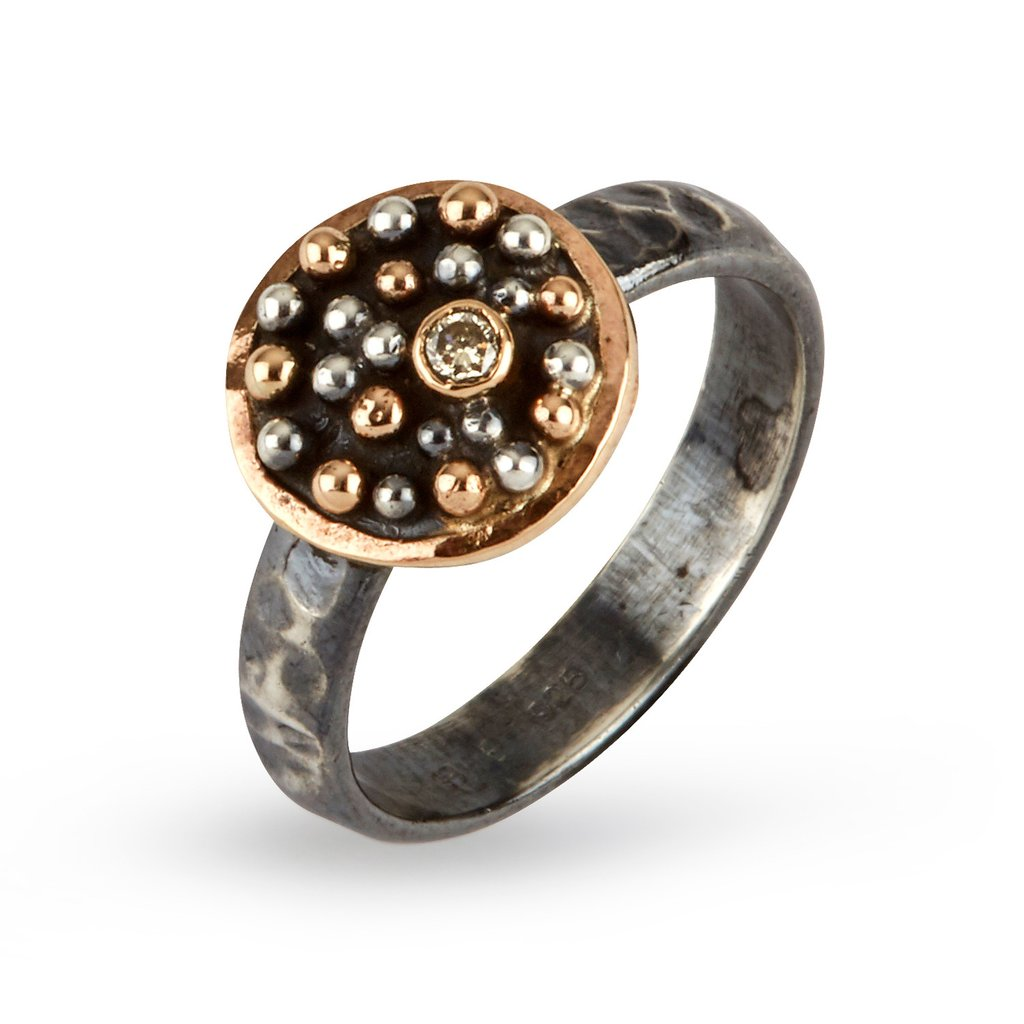 Harlem Shake Circle ring by Birdie