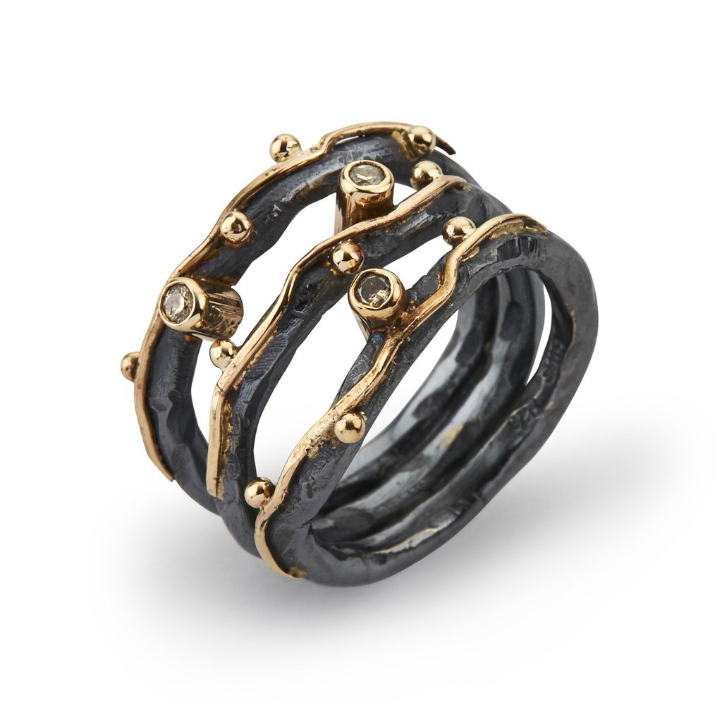Zeus Tribeca ring by Birdie