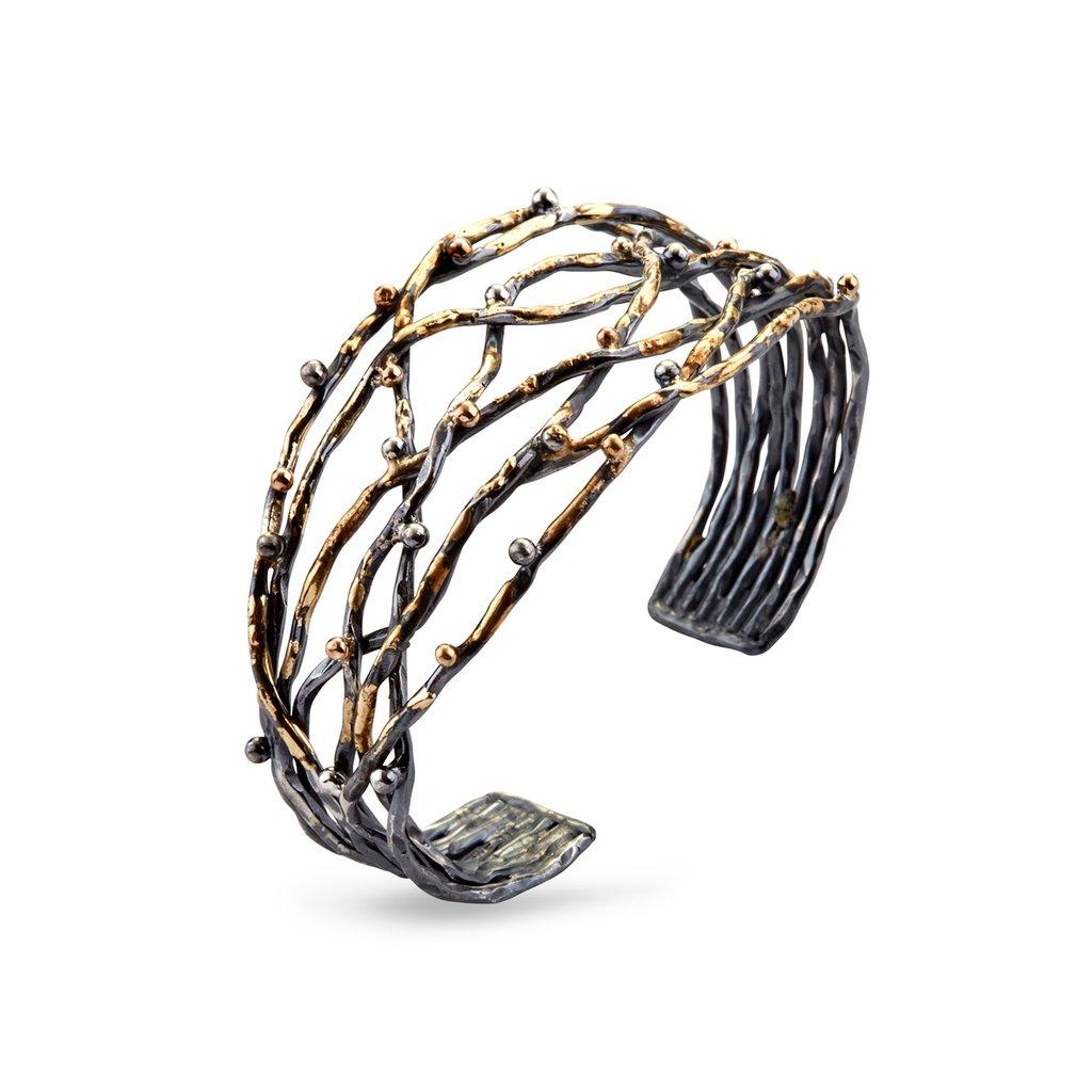 Visholm kors armbånd med diamanter - Karen Norup Smykker e3256094a78f5