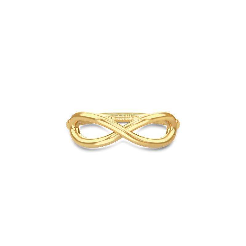 Eternity ring forgyldt