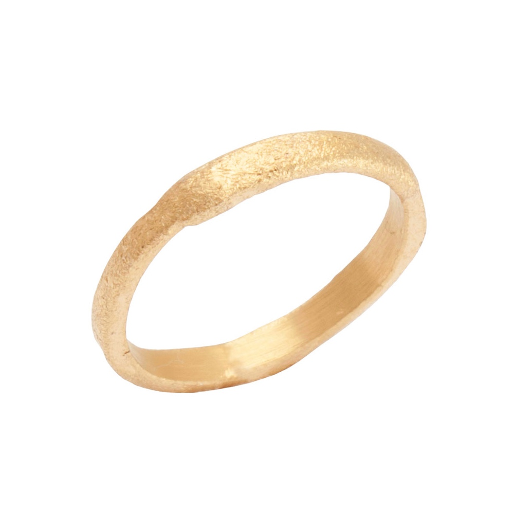 bf35281f954 Heiring, Rustique ring, forgyldt